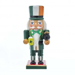 "Image of 9""Wooden Irish Nutcracker"