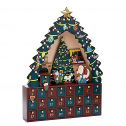 "Image of 16""Xmas Tree 24Pc Advent Calendar"
