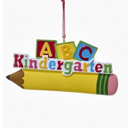 "Image of 4 3/8""Kindergarten Personalize Orn"