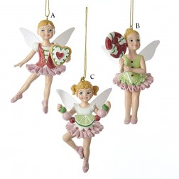"4.25"" Resin Candy Fairy Ornament"
