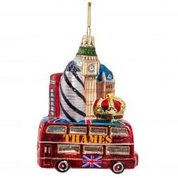 "Image of 5""Glass London City Orn"