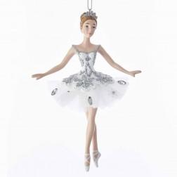 "Image of 5.75""Resin Snow Queen Ballerina Orn"