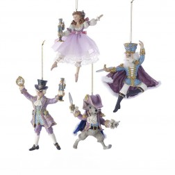 "Image of 6""Nutcracker Suite Orn Set 4Pc"