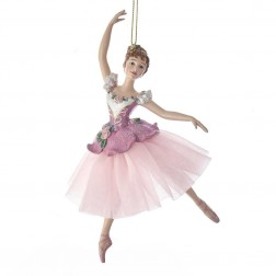"Image of 6.5""Waltz Of Flowers Ballerina Orn"
