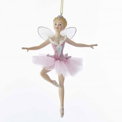 "Image of 5.88""Sugar Plum Fairy Orn W/Wings"
