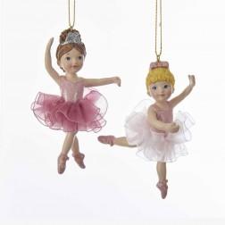 "Image of 4""Res Ballerina Girl W/Tutu Orn 2/A"