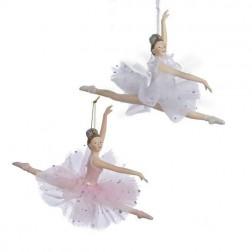 "Image of 5""Pink/White Ballerina Orns 2/Asstd"