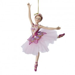 "7"" Sugar Plum Ballerina Ornament"