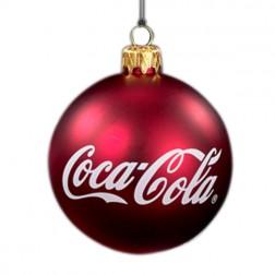 Coca-Cola Christmas Ball Ornaments