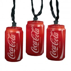 Blow Mold Classic Coca-Cola Can Party Christmas Lights