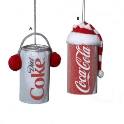 Coca-Cola Can Christmas Ornament