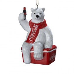 Coca-Cola Polar Bear On Cooler