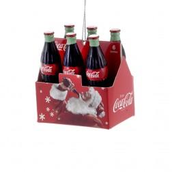 """2.75"""" Coca-Cola 6-Pack Mini Ornament"""