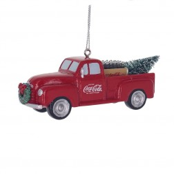 """Image of 1.375""""Resin Coca-Cola Truck Orn"""