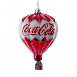 """3.5"""" Glass Coca-Cola Balloon Ornament"""