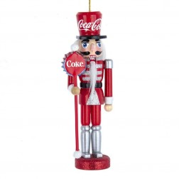 """Image of 6""""Wdn Coca-Cola Nutcracker Orn"""
