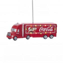 "Image of 5""B/O Coke Truck Orn W/Lights"
