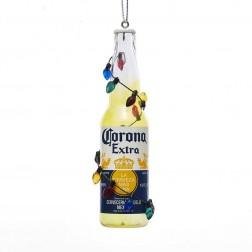 "Image of 4.5""Corona Bottle W/Bulb Garlnd Orn"