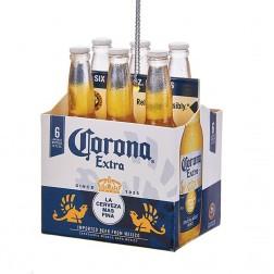 "2.625"" Corona Extra 6-Pack Ornament"