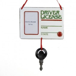 """Image of 5""""""""Driver License"""" W/Key Orn"""