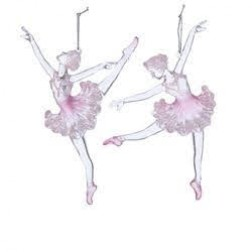 """Image of 6.5""""Acrylic Pink Ballerina Orn 2/A"""