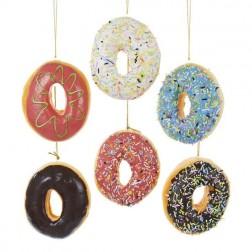 "Image of 3.9""Poly Foam Donut Orn 6/Asstd"