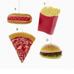 "Image of 4.5"" Fast Food Ornament"
