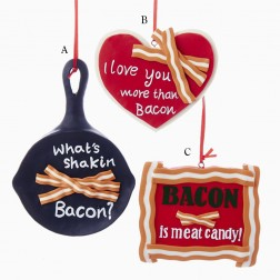 "5.25"" Bacon Ornament"
