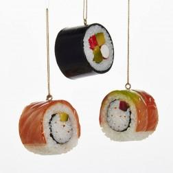 "Image of 1.88""Plastic Sushi Orn 3/Asstd"