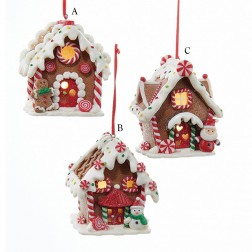 3.5 Gingerbread LED House Ornament