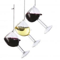 "Image of 4""Glass Wine Glass Orn 3/Asstd"