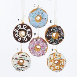 """Image of 2.75X1.29"""" Donuts Ornament"""