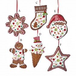 Image of 5.5 Gingerbread Ornament