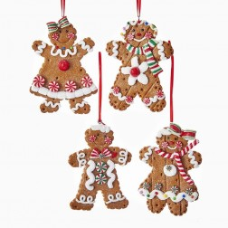 """Image of 4""""Gingerbread Boy/Girl Orn 4/A"""
