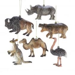 Image of Plastic Animal Orn 6/Asstd