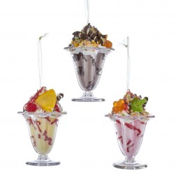 "Image of 4.8""Ice Cream Sundae W/Cup Orn 3/A"