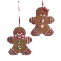 Image of Claydough Gingerbread Man Orn 2/A