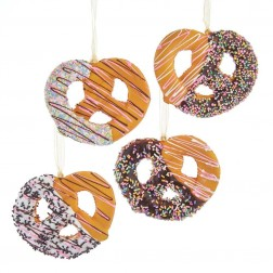 """Image of 3.5""""Pretzl W/Drizzles+Sprinkles 4A"""