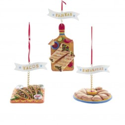 "Image of 3""Resin Fajita/Taco/Empanada Orn"