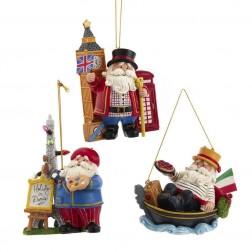 "Image of 4""Resin International Santa Orn 3/A"