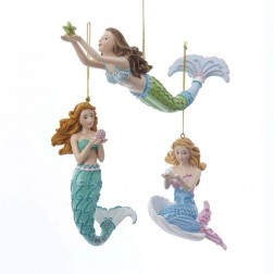 "Image of 4.25""Mermaid Fantasy Mermaid Orn 3A"