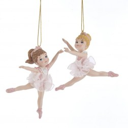 "Image of 3.75""Dancing Ballerina Kids Orn 2/A"
