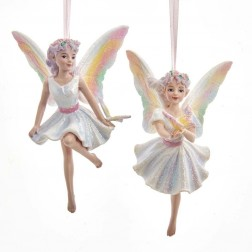 "Image of 5""Resin Butterfly Fairy Orn 2/Asstd"
