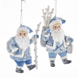 "Image of 5.5""Blue Santa Birch Brk Bskt/Staff"