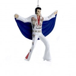 "Image of 4.5""Elvis In Eagle Suit W/Cape Orn"