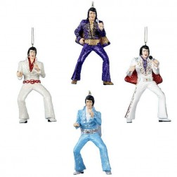 "Image of 4.5""Resin Elvis Jumpsuit Orn 4/A"