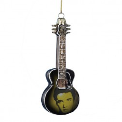 Image of Elvis Presley Guitar Ornament