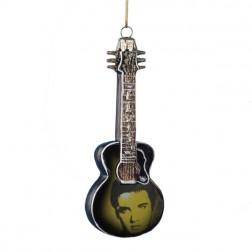 Image of Elvis Presley Guitar Ornament