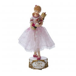 "10"" Musical Clara with Nutcracker"