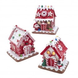 "Image of 5.5""B/O Gingrbrd Led Candy House 3A"